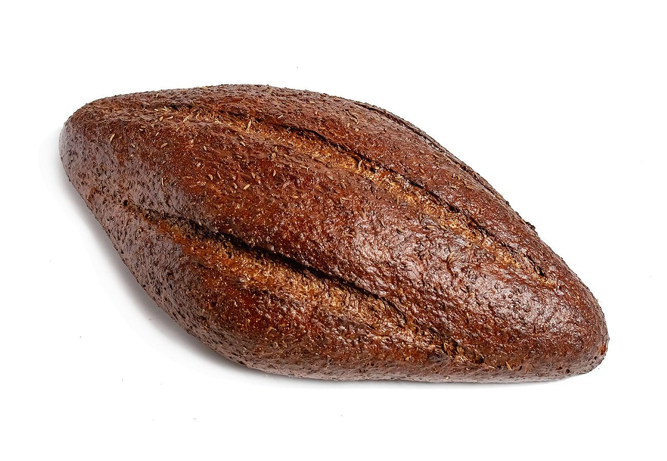 Черный хлеб с кунжутом