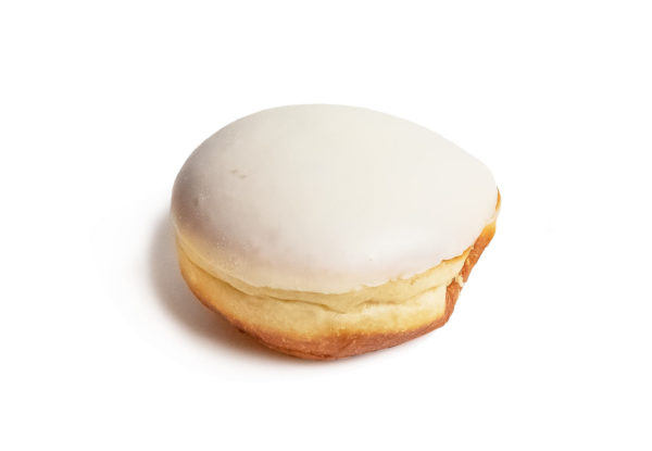 Пончик со сгущенным молоком