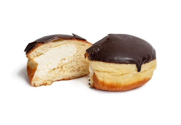 Пончик с заварным кремом