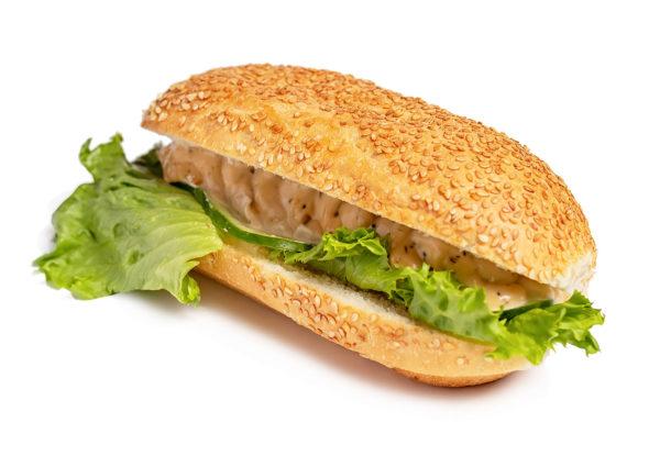 Сэндвич с горчичным соусом